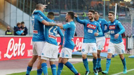 Napoli vs Sampdoria - INDOSPORT