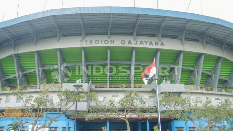 Stadion Gajayana Malang. Copyright: INDOSPORT/Abdurrahman.R