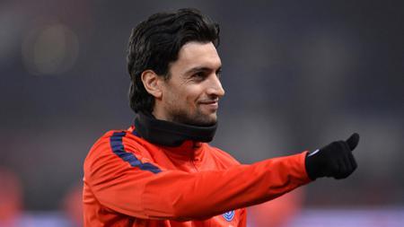 Pemain sepak bola AS Roma, Javier Pastore, punya tiga alasan kuat dirinya berpotensi besar untuk gabung ke Inter Miami milik David Beckham. - INDOSPORT