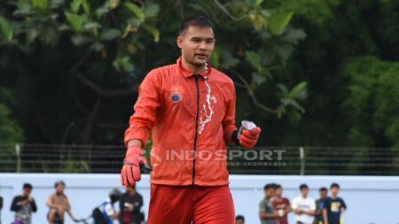 Sukses membalaskan dendam Rezaldi Hehanusa, kapten tim Persija Jakarta, Andritany Ardhiyasa sukses menjuarai turnamen Bola eSports Challenge. - INDOSPORT