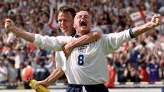 Indosport - Paul Gascoigne, eks penggawa Timnas Inggris.