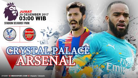 Prediksi Crystal Palace vs Arsenal - INDOSPORT