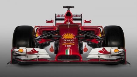 2014 Ferrari F14T. - INDOSPORT