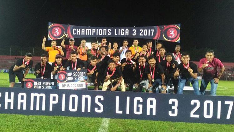 Aceh United Copyright: Indosport/Zaenal Hasan