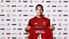 Indosport - Virgil Van Dijk resmi gabung Liverpool.