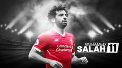 Indosport - Wallpaper Mohamed Salah.