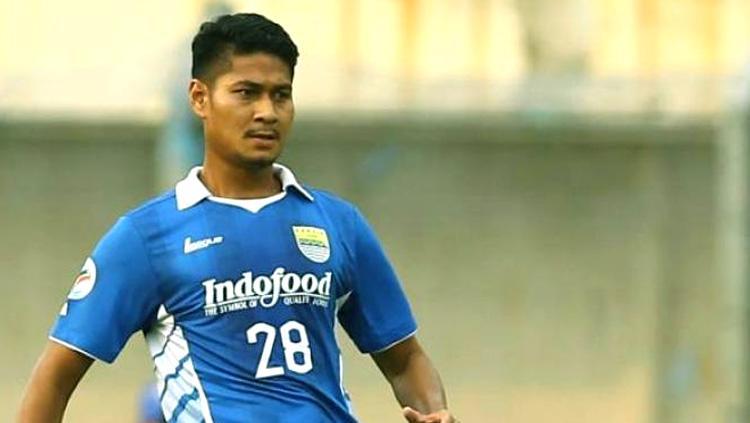 Abdul Rahman Sulaeman saat berseragam Persib Bandung. Copyright: Sidomi
