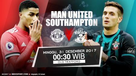 Prediksi Manchester United vs Southampton. - INDOSPORT