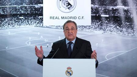 Presiden Real Madrid, Florentino Perez. - INDOSPORT