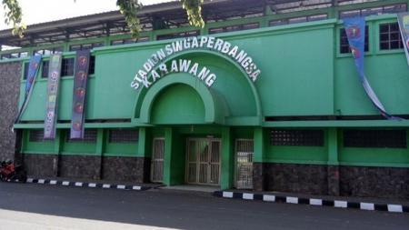 Pintu masuk Stadion Singaperbangsa. - INDOSPORT
