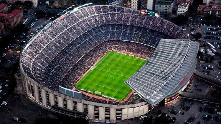 Camp Nou di Spanyol. Copyright: Istimewa