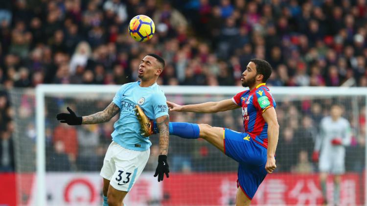 Crystal Palace vs Man City. Copyright: Getty Images