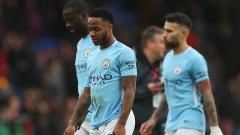 Indosport - Skuat Man City tampak lesu usai gagal meraih kemenangan.