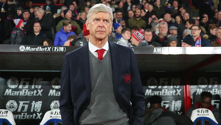 Manajer Arsenal, Arsene Wenger. Copyright: INDOSPORT
