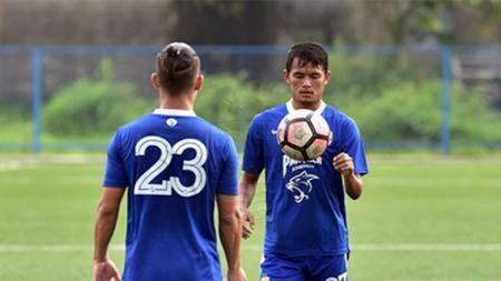 Kim Jeffrey Kurniawan dan Puja Abdillah pemain Persib Bandung - INDOSPORT