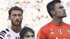 Indosport - Emil Audero (kanan) kiper pinjaman Juventus.