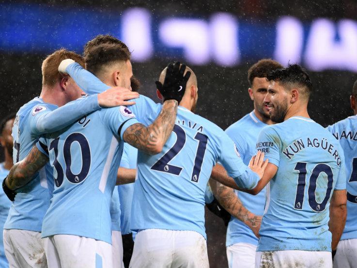 Man City vs Watford. Copyright: Getty Images