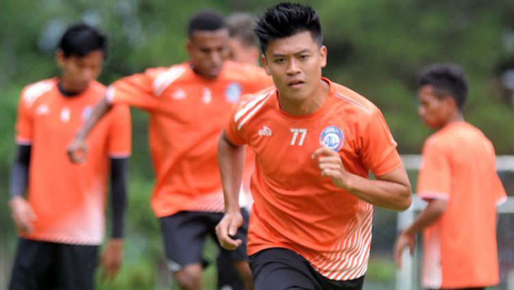 Jefri Kurniawan, winger Arema FC Copyright: ongisnade.co.id