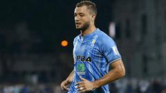 Indosport - Reinaldo Lobo saat memperkuat Penang FA.