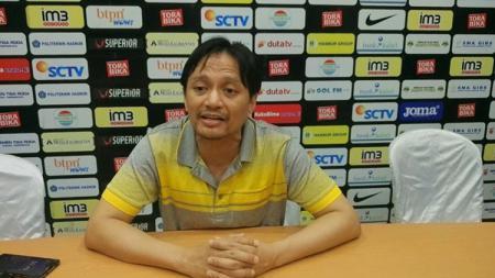 Manajer Barito Putera Hasnuryadi Sulaiman. - INDOSPORT