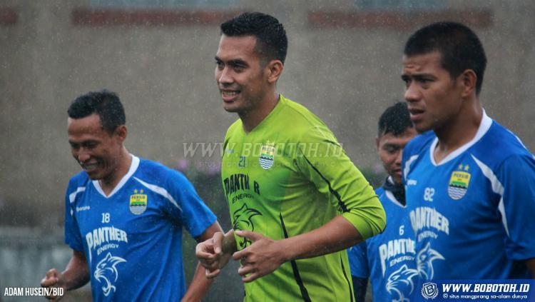 Imam Arief Fadillah, Kiper Persib Bandung Copyright: Bobotoh.id