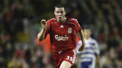 Indosport - Danny Guthrie saat masih berseragam Liverpool.