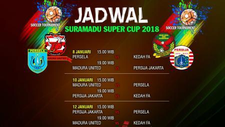 Jadwal Suramadu Super Cup 2018 - INDOSPORT