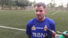 Indosport - Pelatih Bhayangkara FC, Simon McMenemy.