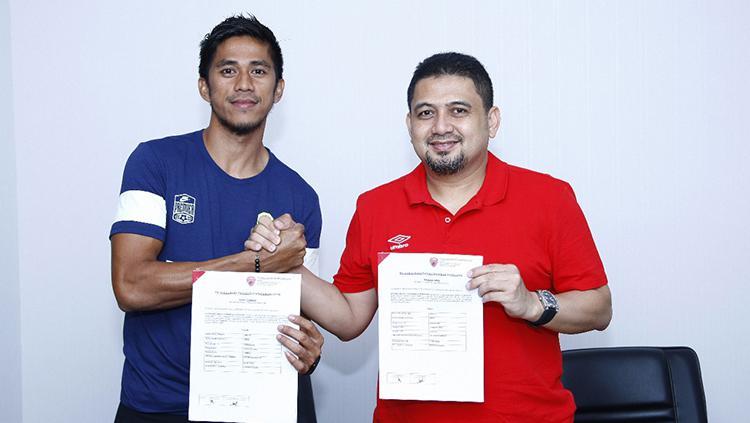 Ardan    Aras dan CEO PSM Makassar, Munafri Arifuddin. Copyright: PSM Makassar