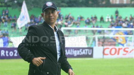 Joko Susilo, pelatih Arema FC - INDOSPORT