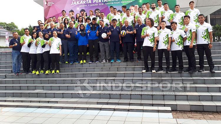 Launching Tim Jakarta Pertamina Energi Copyright: Zainal Hasan/INDOSPORT