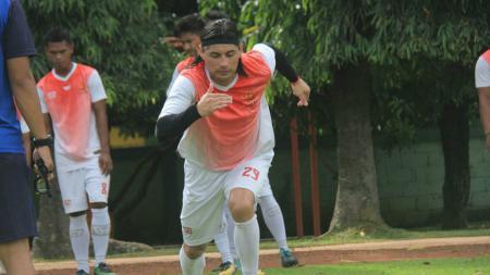 Mauricio Arias pemain seleksi PS TNI. - INDOSPORT