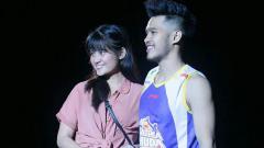 Indosport - Audy Bagastyo bersama sang kekasih.