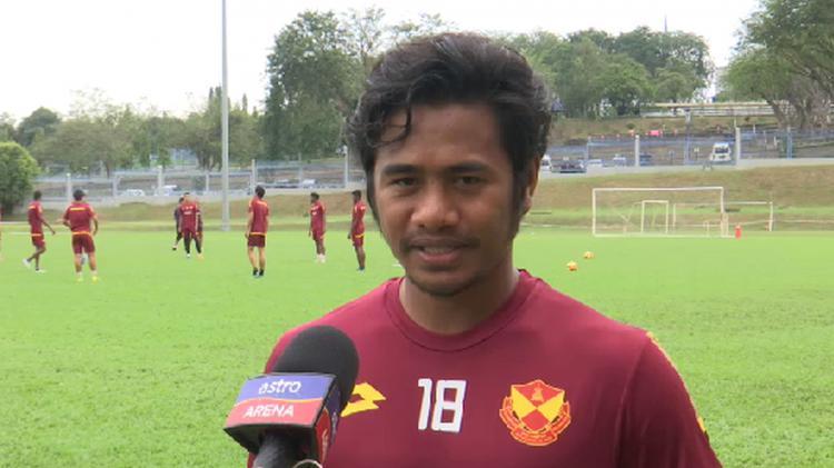 Ilham Udin saat diwawancrai Stadium Astro Copyright: Stadium Astro