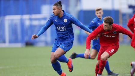 Faiq Bolkiah saat memperkuat Leicester City. - INDOSPORT
