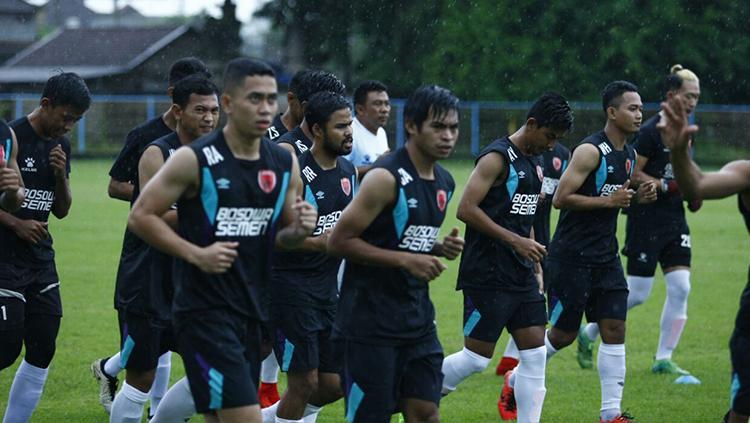 PSM Makassar latihan. Copyright: Media PSM