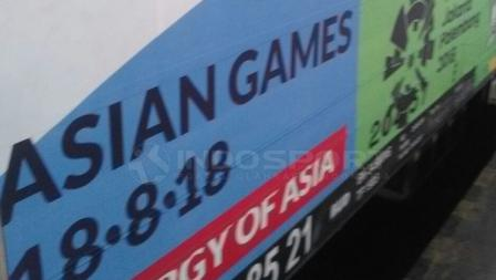 Asian Games 2018 di Commuter Line.