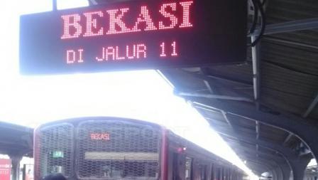 Asian Games 2018 Commuter Line tujuan Bekasi.