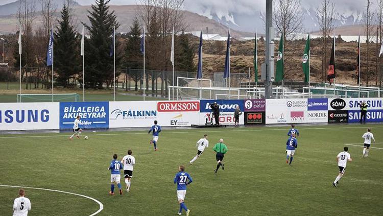Pembinaan sepakbola di Islandia. Copyright: Istimewa
