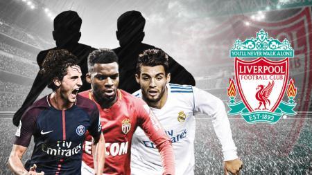 Lima pemain top yang bisa di datangkan Liverpool diantaranya Mateo Kovacic, Thomas Lemar dan Adrien Rabiot. - INDOSPORT