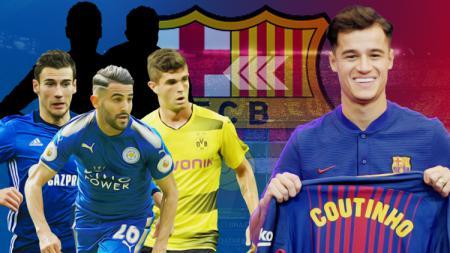 Barcelona seharusnya bisa datangkan lima pemain dengan harga Philippe Coutinho. - INDOSPORT