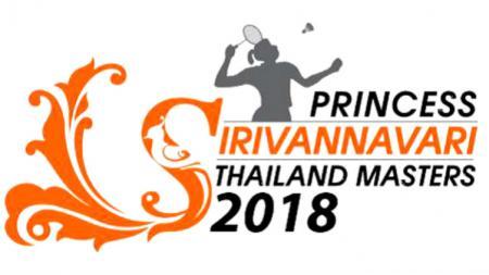 Logo Thailand Masters 2018. - INDOSPORT