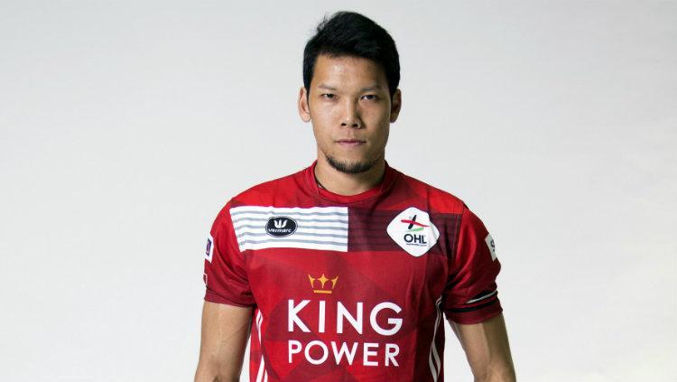 Kiper Timnas Thailand, Kawin Thamsatchanan, kini berseragam Oud-Heverlee Leuven (OHL). Copyright: ohl.be