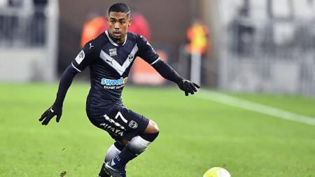 Pemain FC Girondins Bordeaux, Malcom. - INDOSPORT