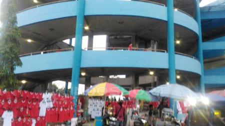 Situasi stadion Maguwoharjo, Sleman. - INDOSPORT