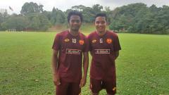 Indosport - Ilham Udin dan Evan Dimas.