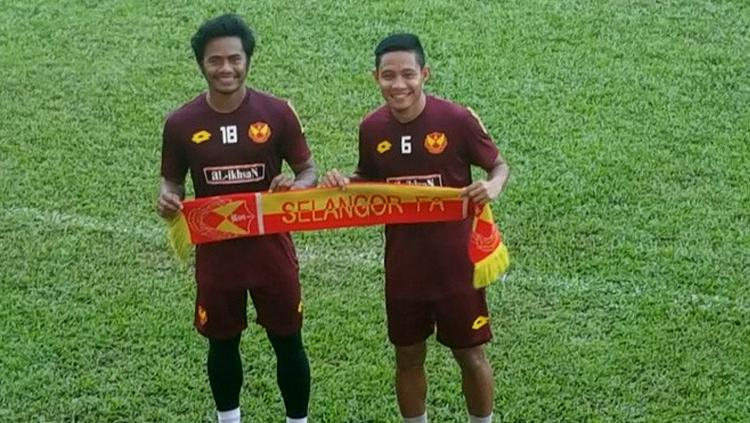 Ilham Udin dan Evan Dimas. Copyright: Evan Dimas for JawaPos