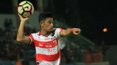 Pemain anyar Madura United, Beny Wahyudi - INDOSPORT