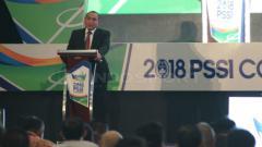 Indosport - Edy Rahmayadi saat membuka Kongres PSSI