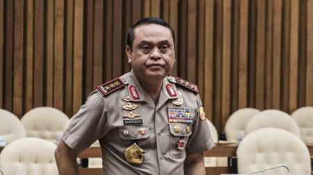 CdM Kontingen Indonesia  Komjen pol Syafruddin - INDOSPORT